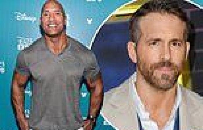 Dwayne Johnson reportedly thinks Ryan Reynolds is the best actor he's ever ...