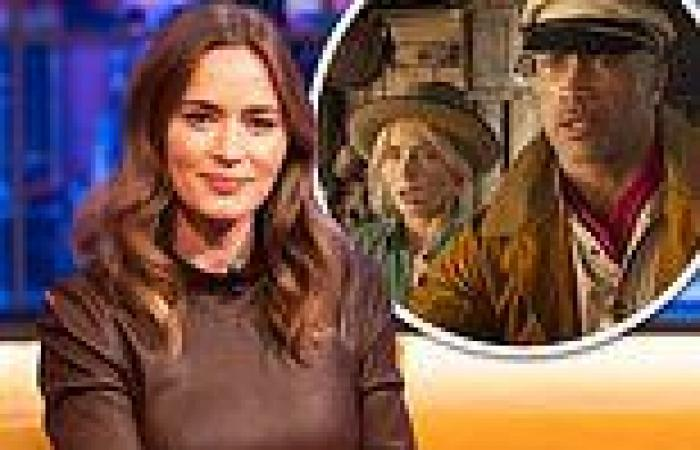 Emily Blunt says she was sceptical whether she'd be joint lead in Jungle Cruise