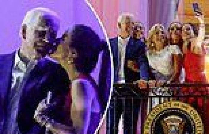Joe Biden and family take in magnificent July 4 fireworks display over ...