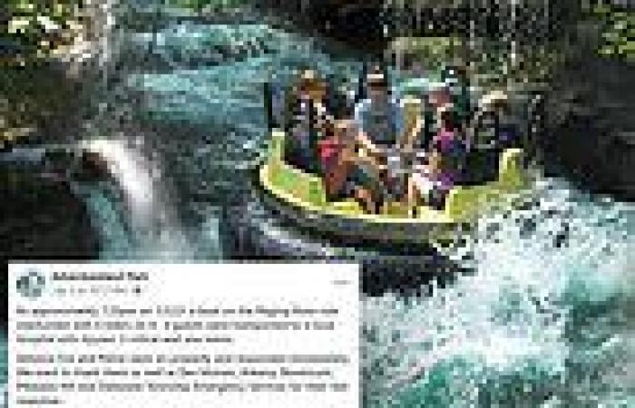 One dead, three injured after a raft overturned on a water ride at an Iowa ...