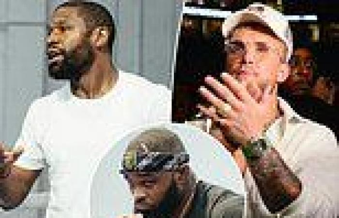 sport news Jake Paul insists he is NOT worried about the 'old man' Floyd Mayweather ...
