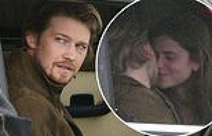 Taylor Swift's boyfriend Joe Alwyn  kisses Alison Oliver on set of ...