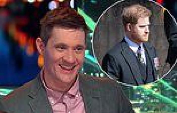 Aussie comedians brutally joke about Prince Harry's 'real dad' on Have You Been ...