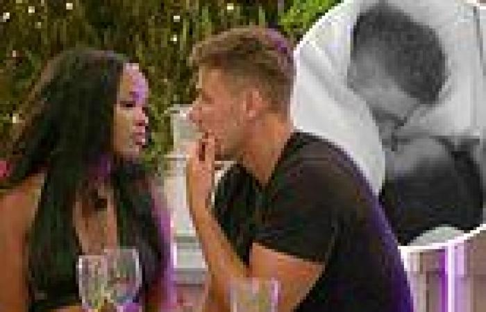 Love Island 2021: Rachel enjoys a steamy duvet smooch with Brad after tense ...