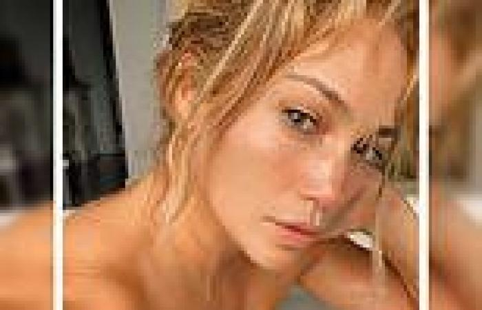 Jennifer Lopez poses in bubble bath and shares motivational message amid Ben ...