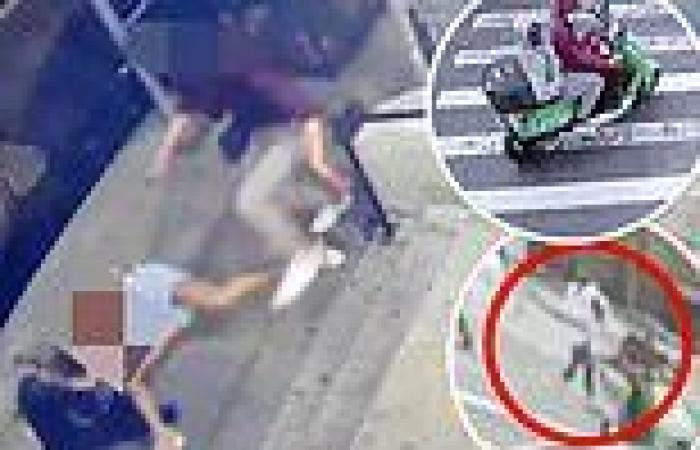 Lime scooter passengers opens fire outside Harlem bodega while Russian tourist ...