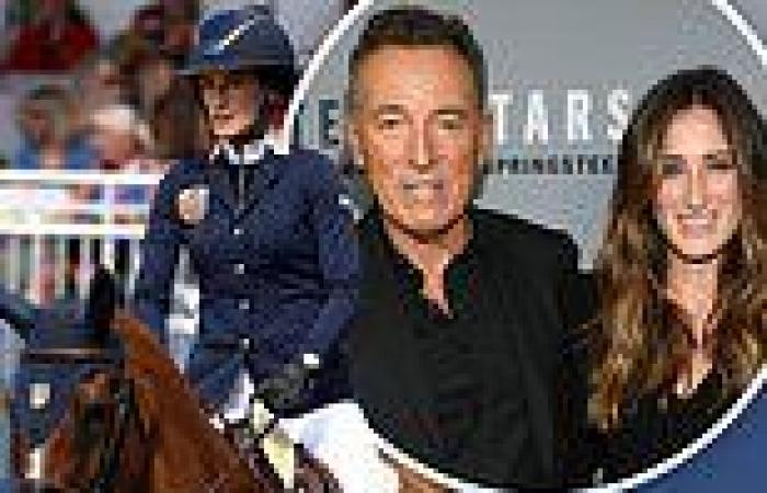Bruce Springsteen's daughter Jessica is named to Team USA's equestrian team at ...