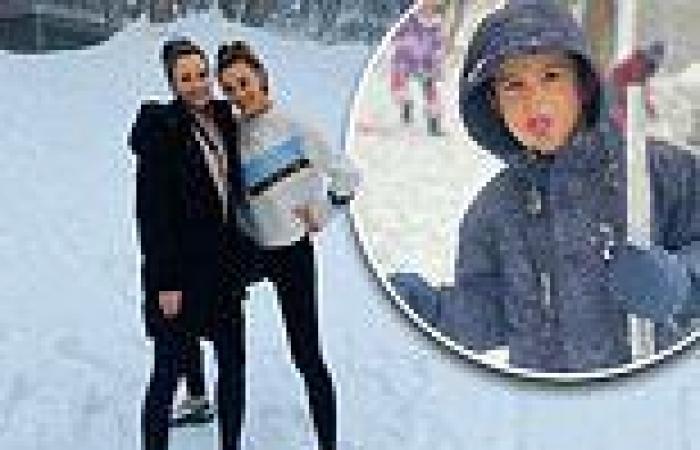 Inside Rebecca Judd's Mount Buller getaway: Footy WAG enjoys a trip to her new ...