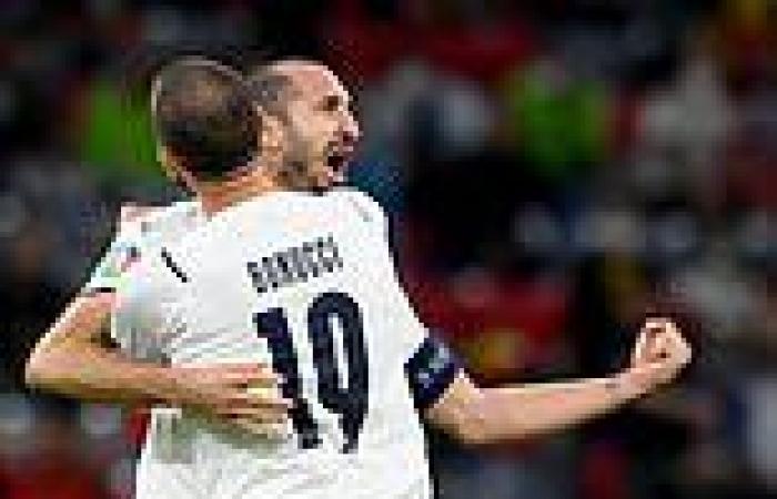 sport news Euro 2020: Roberto Mancini calls Chiellini and Leonardo Bonucci the world's ...