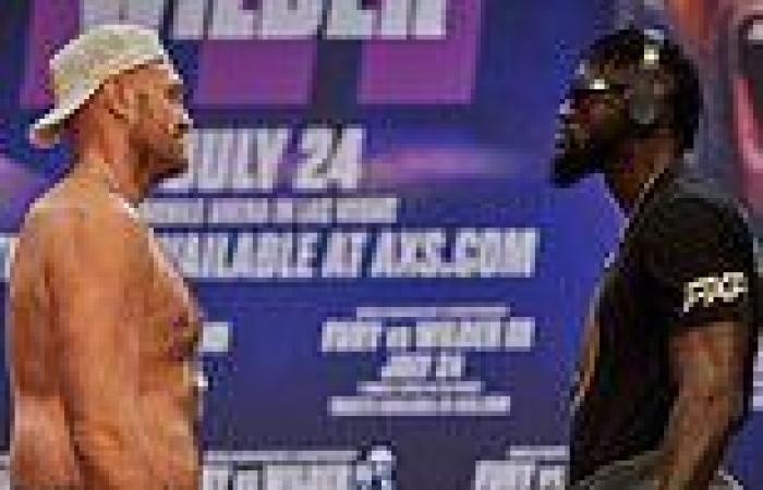 sport news Deontay Wilder expecting Tyson Fury to 'cheat' during heavyweight trilogy bout