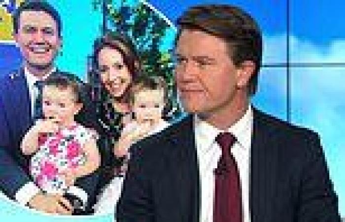 Today newsreader Alex Cullen may miss the birth of his third child due to ...