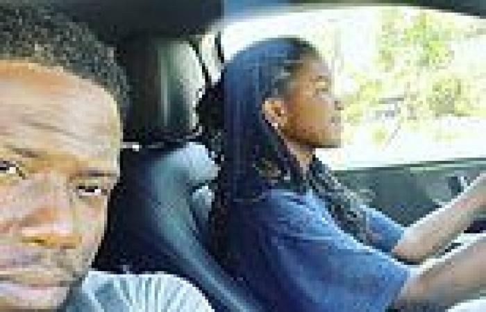 Kevin Hart shares selfie as he teaches daughter Heaven, 16, to drive