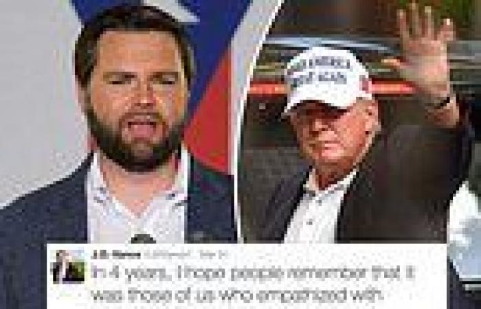 Hillbilly Ellegy author J.D. Vance apologizes for tweeting criticism of Trump