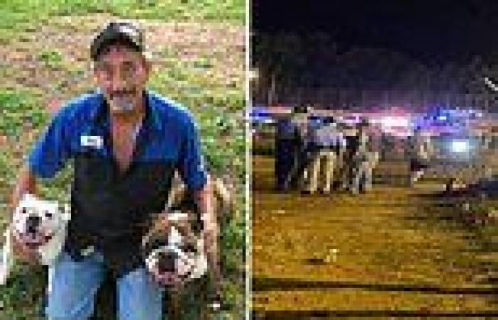 Spectator, 57, is killed after car crashes at Georgia speedway and sprays ...