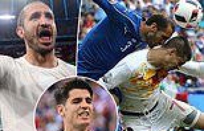 sport news Euro 2020: Can Spain striker Alvaro Morata get the better of Italy captain ...