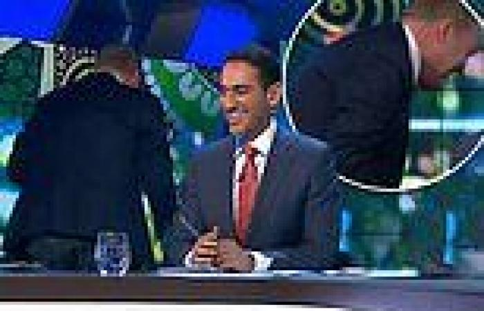 The Project's Peter Helliar storms off set after technical glitch during LIVE ...