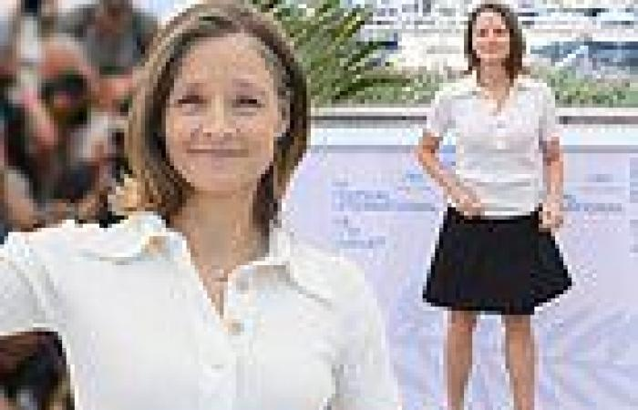 Jodie Foster, 58, puts on a leggy display at the Cannes Film Festival