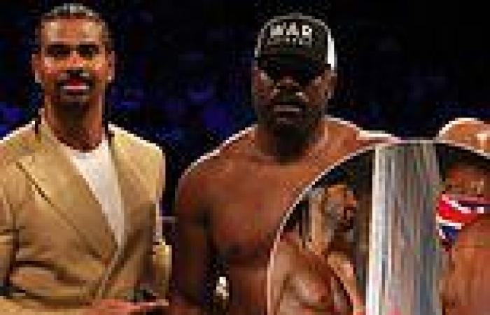 sport news David Haye splits with his once fierce rival Derek Chisora after two-and-a-half ...