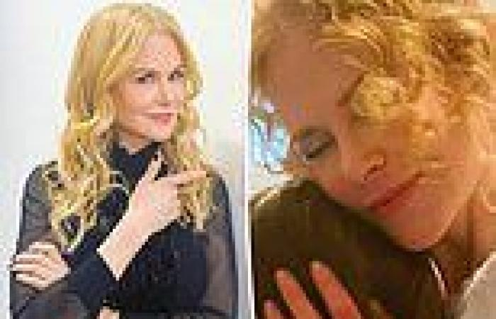 Nicole Kidman shares a sweet tribute to her daughter Sunday Rose on her 13th ...