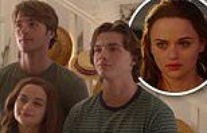 The Kissing Booth 3 trailer finds Joey King's Elle forced to choose between her ...