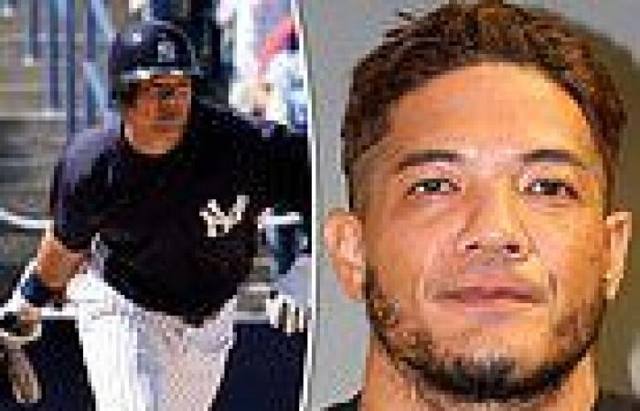 Ex-Yankees player Bronson Sardinha is arrested 'for July 4 DUI'