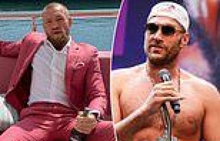 sport news Tyson Fury backs Conor McGregor to exact revenge on Dustin Poirier this weekend ...
