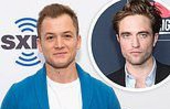 Taron Egerton will replace Robert Pattinson in the upcoming film adaptation of ...