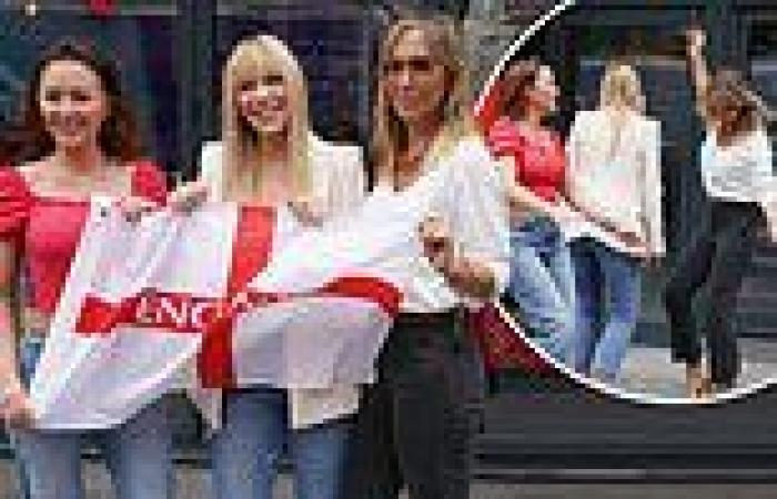 Atomic Kitten reunite for the first time in 15 YEARS to record anthemic Euro ...