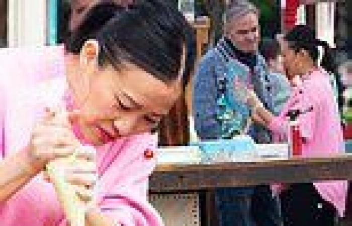 MasterChef's Poh Ling Yeow gets to work at her market stall in Adelaide with ...