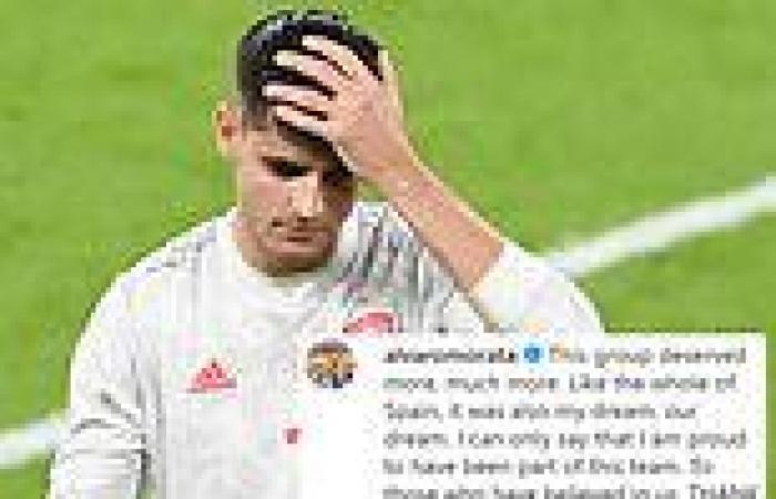 sport news Alvaro Morata insists Spain 'deserves much more' than Euro 2020 semi-final ...