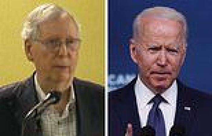 Mitch McConnell says Biden has a 'hell of a fight' on his hands over the ...