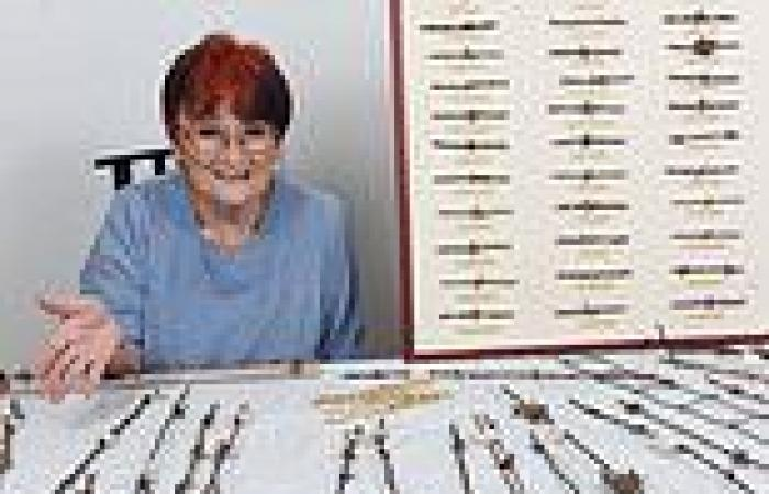 Dorset grandmother explains how she is the only person in Britain to collect ...