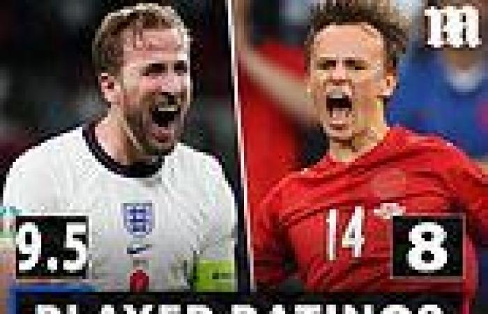 sport news Euro 2020: PLAYER RATINGS: Raheem Sterling was unplayable for England as he ...