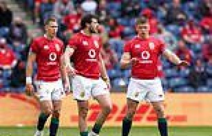 sport news Lions tour to South Africa in jeopardy as Covid forces Boks' to cancel  warm up ...