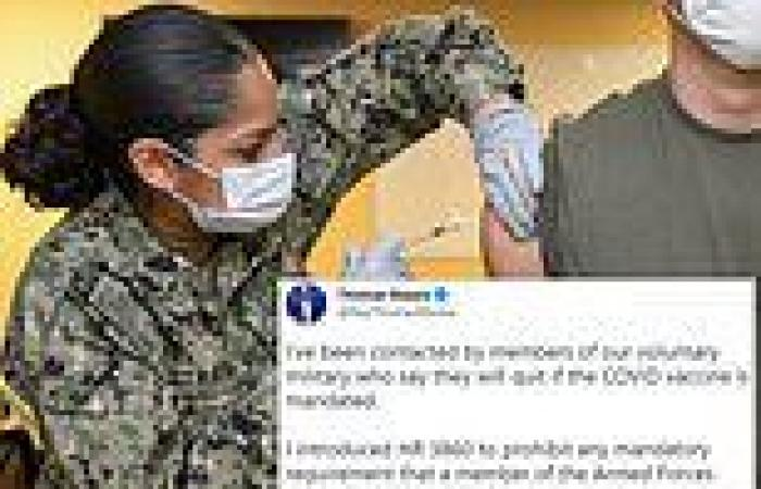 US Army plans to make COVID-19 vaccines MANDATORY for soldiers as early as ...