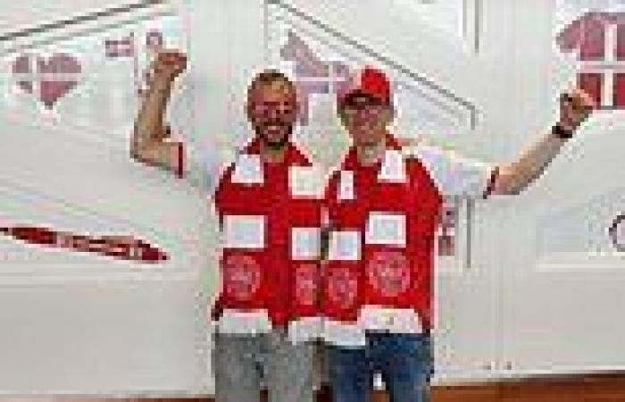 Danish swerves Covid rules by allowing 40 fans to travel to England for Euros ...