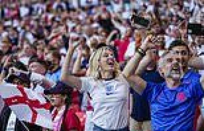 Euro 2020: England's crunch semi-final against Denmark gets underway