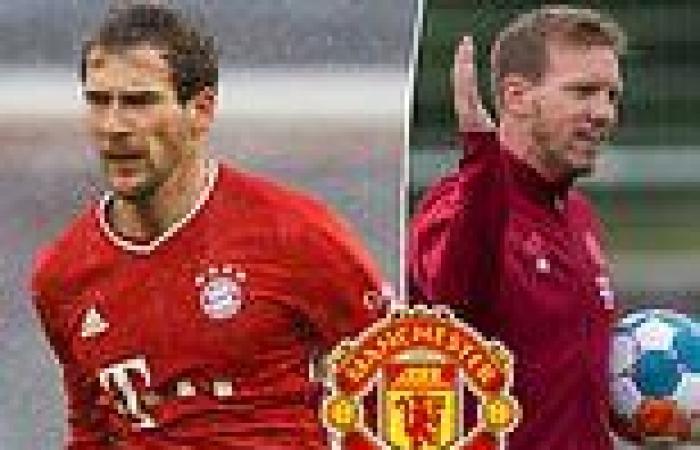 sport news Julian Nagelsmann wants Man United target Leon Goretzka to stay at Bayern ...