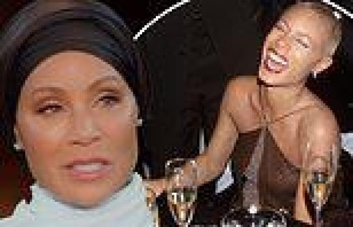 Jada Pinkett Smith reveals she 'passed out' after taking ECSTASY on set of The ...