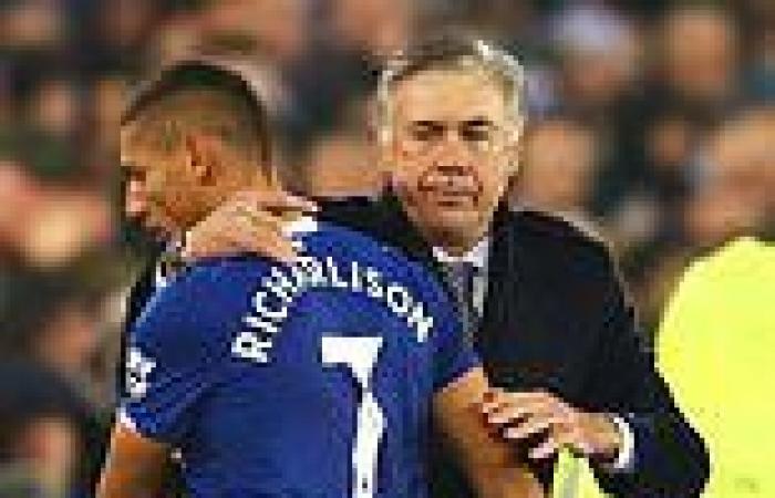 sport news Carlo Ancelotti 'calls Everton star Richarlison to discuss Real Madrid move'