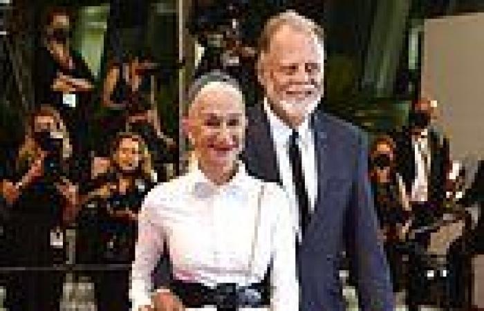 Helen Mirren, 75, joins husband Taylor Hackford at the Velvet Underground ...