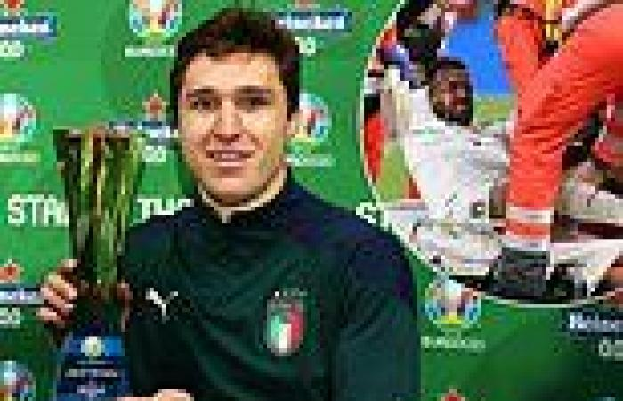 sport news Italy's players dedicate their Euro 2020 semi-final victory to injured ...