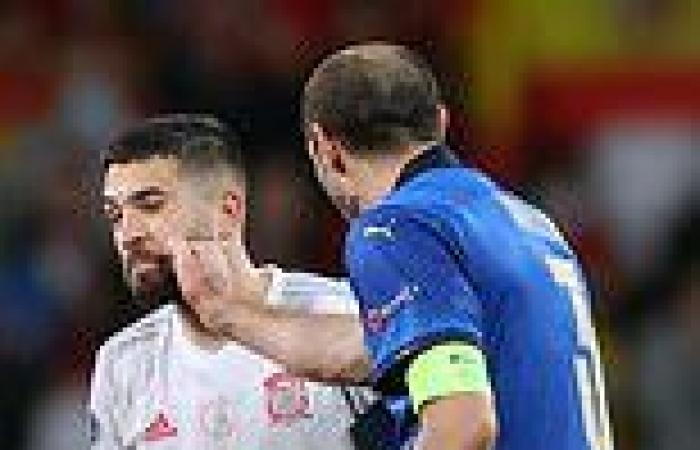 sport news Euro 2020: Wily Giorgio Chiellini psyched out Jordi Alba before Italy beat ...