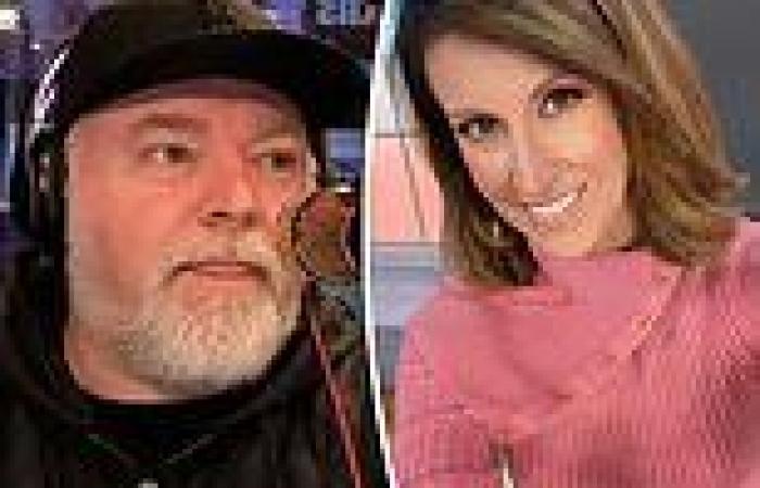 Natalie Barr and Kyle Sandilands bury the hatchet live on Sunrise