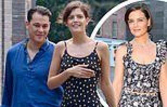 Katie Holmes' ex Emilio Vitolo Jr is seen with a woman who resembles the ...