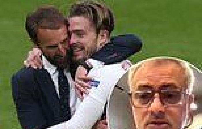 sport news Jose Mourinho calls for Jack Grealish to START England's Euro 2020 semi-final