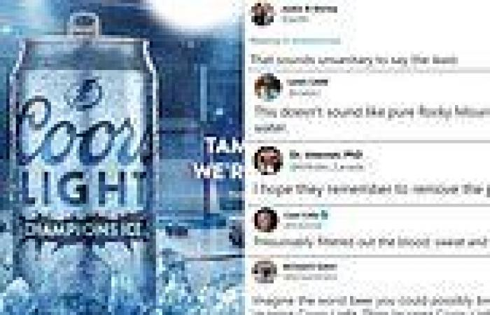 Twitter mocks Coors for creating beer with ice from Tampa Bay's hockey rink ...