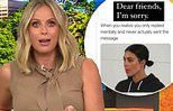 Sylvia Jeffreys reveals her awkward texting habit as she has her hands full ...