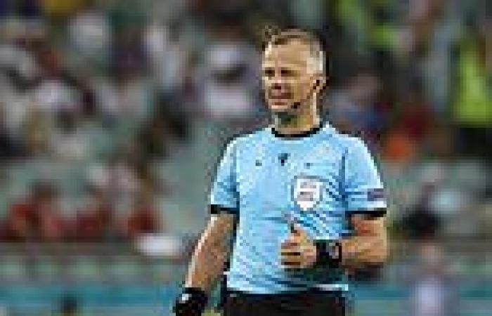 sport news Dutch referee Bjorn Kuipers will take charge of England's Euro 2020 final ...