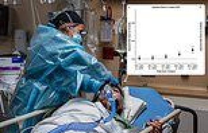 One in four COVID-19 deaths at U.S. hospitals may have been caused by surging ...